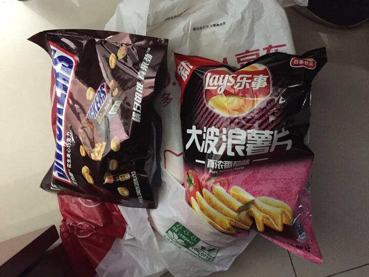 士力架花生夹心巧克力(分享装)糖果巧克力休闲零食240g 晒单图