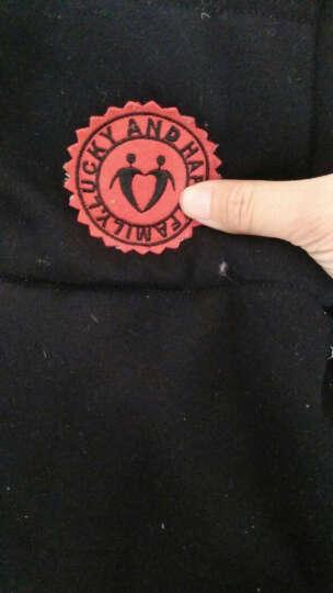 亲子装2018新款冬装一家三口母子装母女装四口全家套装马甲棉衣卫衣三件套秋冬家庭装 图片色 (三件套) 爸爸XXL码 (外套+马甲+裤子) 晒单图