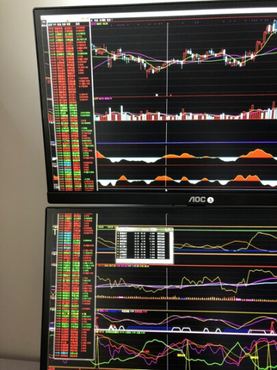 萬合星(WAN HE XING) 2屏电脑 多屏组装机 股票/金融 显示器主机台式机电脑 基础版 主机+23.8英寸屏*2+键盘+支架 晒单图