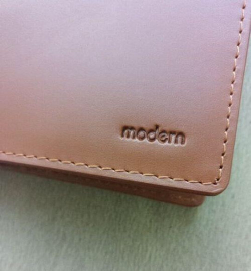 Modern护照包 旅行机票护照夹保护套 真皮钱夹卡包钱包 多功能证件袋 韩国日本风格 黑色 晒单图