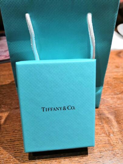 蒂芙尼(Tiffany & Co.) 925银镶双心形珐琅蓝心粉心爱心吊坠项链节日情人节 现货速发 28751249 粉色 晒单图