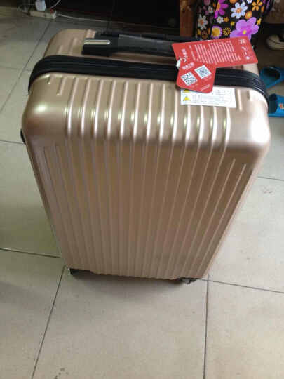 浪漫之旅28寸拉杆箱万向轮20寸旅行箱24寸行李箱包登机箱男女时尚商务箱子 反射银(升级款) 24寸 晒单图