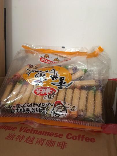 米老头(Uncle Pop)300g 时尚法式薄饼300g 牛奶味 晒单图