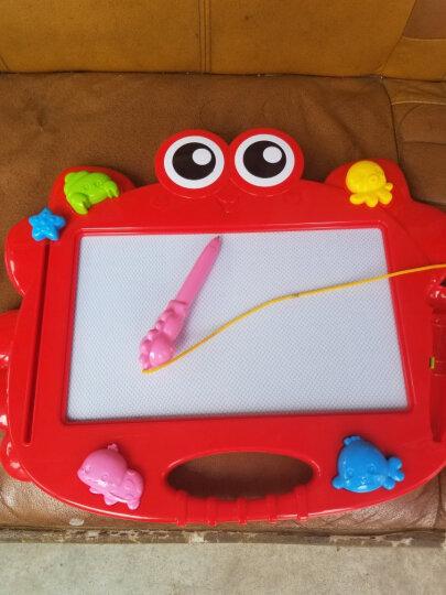 澳贝(AUBY) 大号小蟹艺术涂鸦小黑板磁性宝宝彩色写字板儿童画画板水笔白板早教益智玩具 小蟹艺术涂鸦板464405DS 晒单图