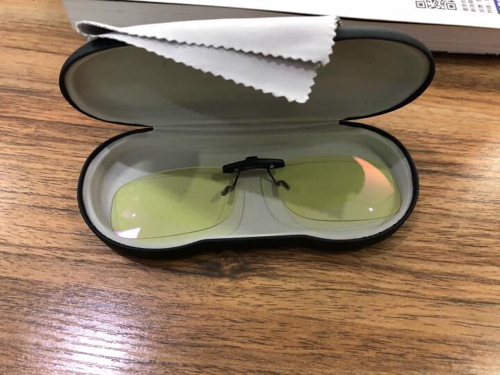 科莱多防辐射防蓝光眼镜夹片男女款 近视眼镜夹片电竞游戏电脑护目平光镜 中号方形夹片-镜片尺寸5.8*3.7cm 晒单图