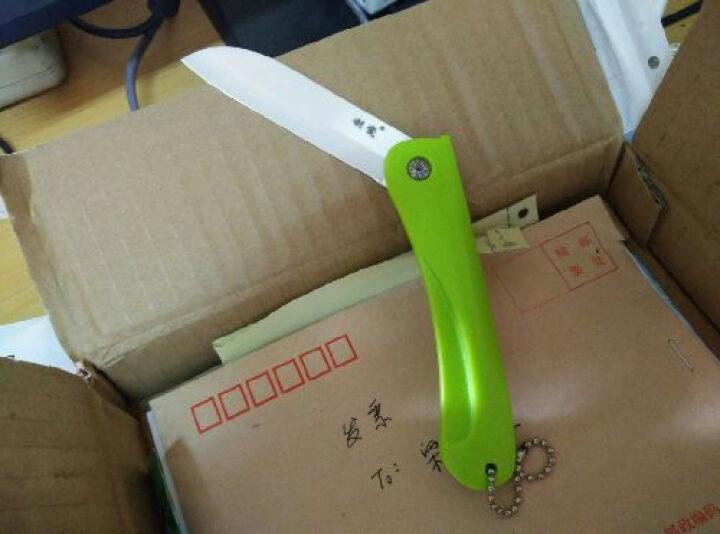 利瓷折叠陶瓷刀水果刀瓜果刀削皮刀 便携刀具锋利耐磨 晒单图
