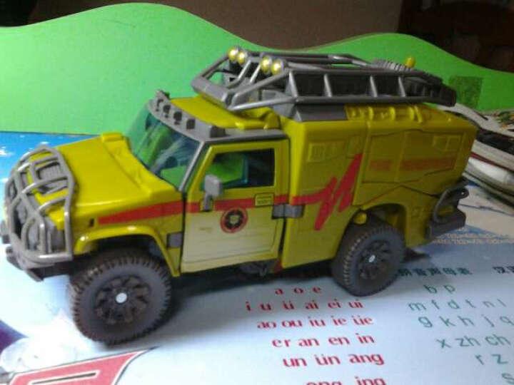 馨韵 变形玩具模型09电影2V级航行家级沙漠色救护车 救护车 晒单图