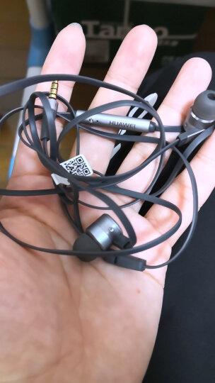 华为(HUAWEI)原装耳机 三键线控 防缠绕 重低音 高保真立体声 入耳式耳机 贝斯耳机 苍穹灰 晒单图