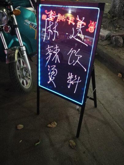 Glo-Loons荧光板大号免支架一体式电子荧光板立式手写广告板发光黑板写字板荧光屏广告牌 荧光板+粗笔+配件套装 晒单图