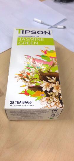迪菩赞(TIPSON)英式早餐原味红茶茶包 原装进口锡兰红茶 50g (25包) 晒单图