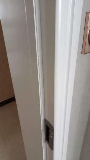 格林钛德(Green Tide)门窗密封条自粘型隔音条塑钢窗户防风玻璃门缝木门防盗门防撞条 I型9*2白色5米装 晒单图