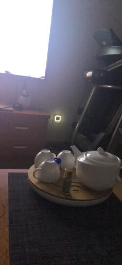 歌特朗 买2赠1节能LED创意夜光灯插电插座光控感应小夜灯起夜睡眠婴儿宝宝喂奶灯床头卧室灯 心形彩色(长亮) 晒单图