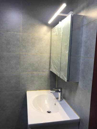 美标 卫浴 新科德系列落地式浴室家具 800mm(含盆及龙头)浴室柜CVASNC80 新摩登金属镜柜700mm CVASVO70 晒单图