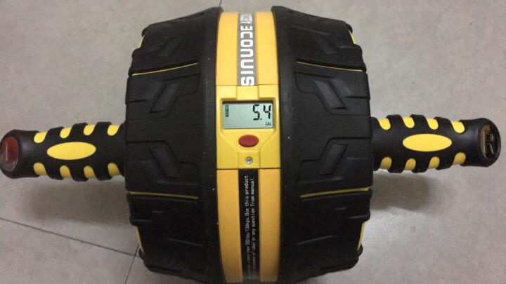 斯诺德(SiNuoDe) 健腹轮 腹肌轮 静音自动回弹 健腹轮巨轮 大黄峰S550 晒单图