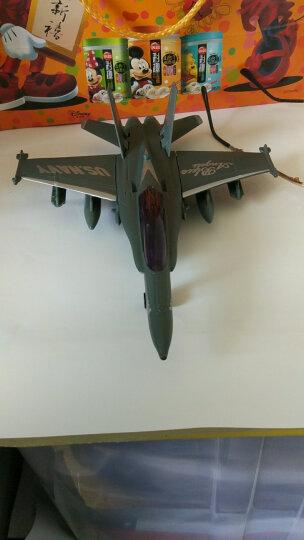 合金飞机模型儿童玩具飞机直升机战机地带战斗机航天飞机轰炸机运输机歼十回力 歼十五航母舰载飞机 晒单图