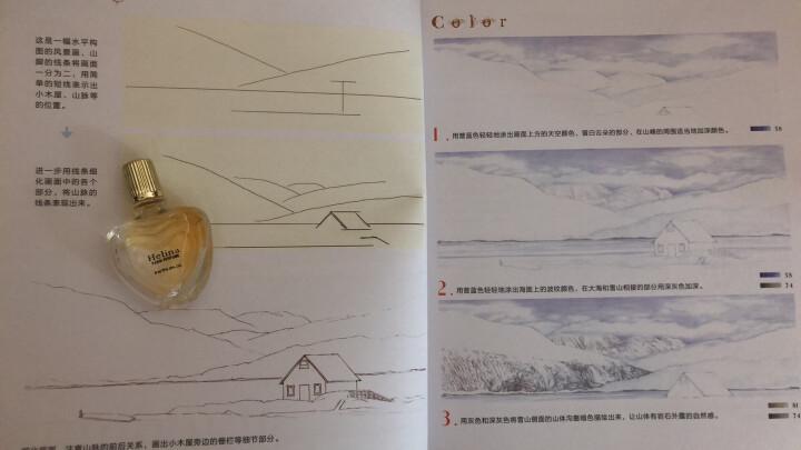 风景绘 28处浪漫风景的色铅笔图绘 绘画 彩铅铅笔画 飞乐鸟素描基础教程教材书速写 晒单图