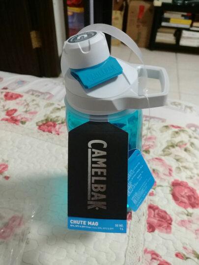 驼峰CamelBak太空杯男女户外运动水瓶磁吸龙口塑料水壶 1L水晶蓝 晒单图