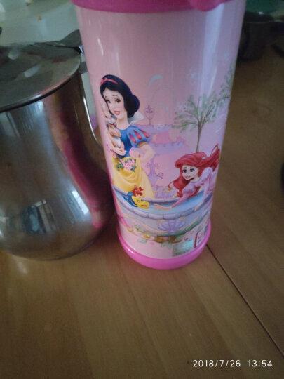 【京东超市】迪士尼(Disney)保温杯米妮480ML儿童水杯学生吸管背带户外水壶HM1912-2 晒单图