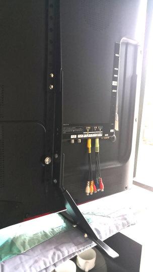 艾美仑27-55英寸(新品)平板液晶底座电视机台式底座支架三星索尼海尔飞利浦TCL小米4桌面增高挂架 2018新品(27-55寸)全金属 重载45kg 晒单图