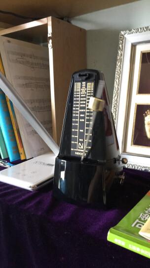 NIKKO 日本原装进口日工精机正品尼康机械节拍器钢琴吉他古筝小提琴架子鼓乐器通用节奏器 大字版 蓝色 晒单图