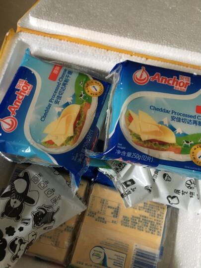 包邮 【巧厨烘焙_安佳原味芝士片250g】即食儿童奶酪奶油乳酪早餐汉堡 晒单图
