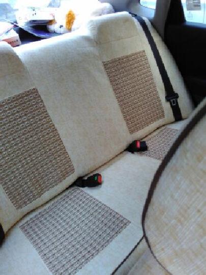 昂驹 全包汽车座套四季通用 新英朗科鲁兹卡罗拉宝骏560 冰丝咖啡色 (98%车型齐全 若无选项请备注车型或联系客服) 晒单图