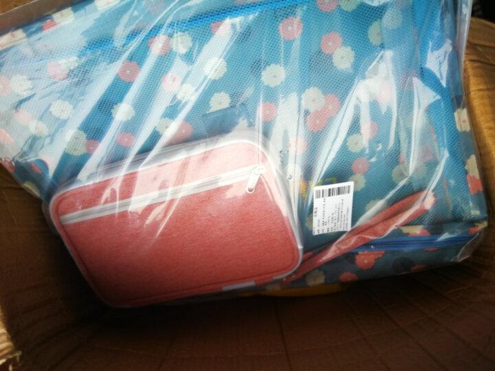 佳途 旅行收纳袋衣物整理包6件套装洗漱化妆包内衣袋 藏青点点 晒单图