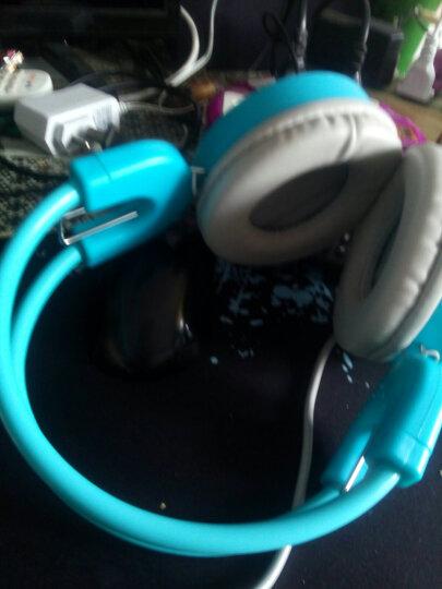科普斯 H3电脑台式耳机头戴式游戏电竞网吧耳麦带麦克风重低音有线耳机 蓝色【不发光】赠鼠标垫 晒单图