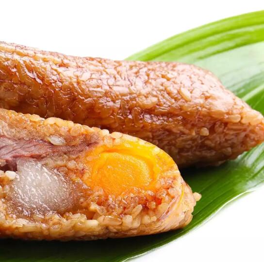 百草味 粽子100gx6只 端午节礼盒早餐手工大肉粽子 湖州特产嘉兴粽 鲜肉粽 晒单图