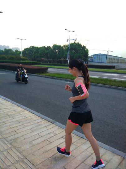圣迪威(Sendio)运动手机臂包臂带臂套 跑步健身男女运动臂带苹果iPhone/华为/oppo/vivo  5.2-6.0英寸 橘红色 晒单图