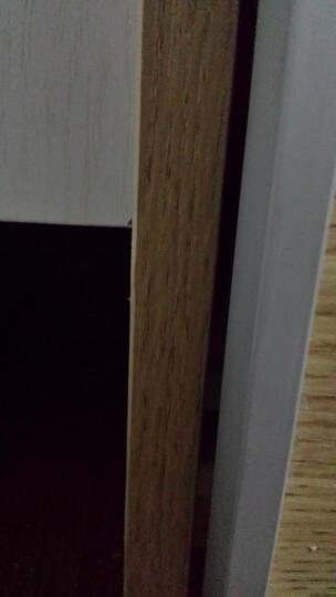 鼠米 家居衣柜 简约现代外挂门衣橱 帕克思移门原木推拉门大衣柜定制定做 宽度2.4米x高度2.4米衣柜 晒单图