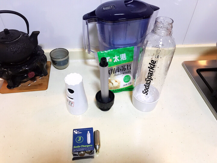 北欧欧慕(nathome)料理机家用气泡水机专配原装气瓶气弹24支装 晒单图