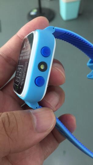 咪咪兔儿童智能电话手表学生可爱防水多功能定位跟踪手机男女孩拍照触摸屏插卡通话手表手环 湖水蓝(拍照定位+防水升级版) 晒单图