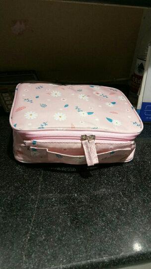 加加林(JAJALIN) 女士化妆包 大容量收纳包 手拿包 化妆袋 便携防水旅行洗漱包 大宗团购  定制商品 晒单图