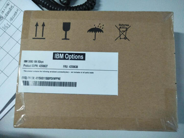 联想(Lenovo) IBM服务器硬盘 System X86 专用2.5英寸热插拔硬盘 300GB 15K SAS 编号 81Y9670 晒单图