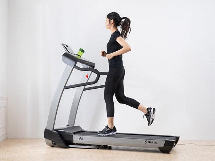 舒华A5跑步机 静音家用折叠健身运动器材 SH-T5500 家用跑步机  智能跑步机 A5跑步机SH-T5500 【送装一体】 晒单图