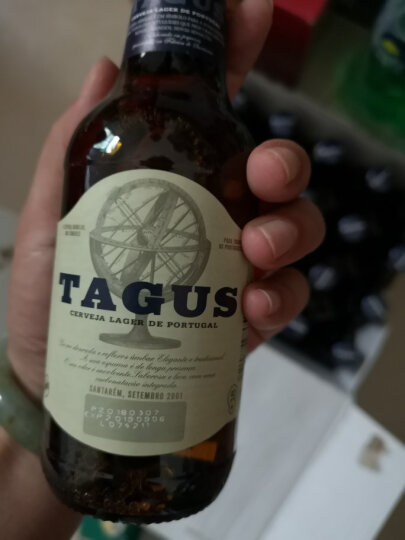 泰谷(TAGUS) 欧洲原装进口泰谷啤酒黄啤酒500ml装 250ml玻璃瓶装 泰谷黄啤330ml*24瓶玻璃 晒单图