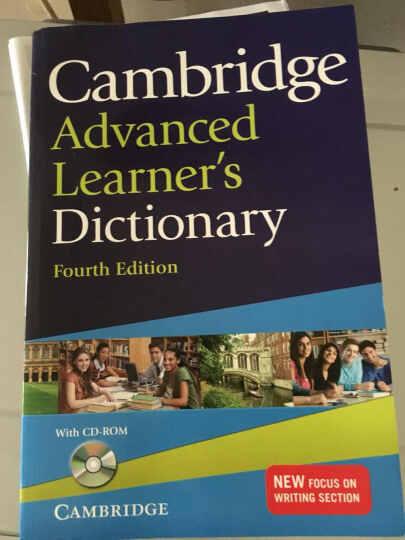 Cambridge Advanced Learner's Dictionary with CD-ROM剑桥高阶最新词典,第四版,附CD 英文原版 晒单图