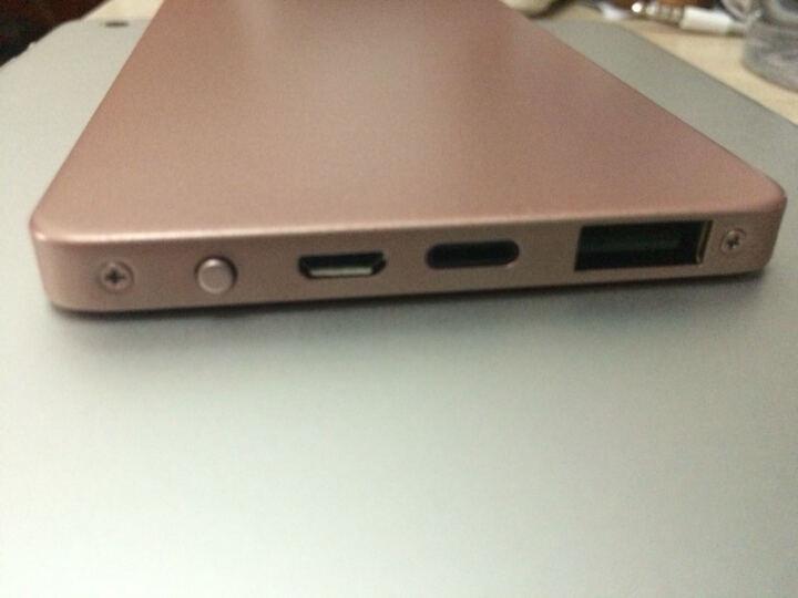BOAS Boas 私人定制充电宝超薄 全金属快充移动电源苹果三星华为小米安卓手机通用 玫瑰金 晒单图