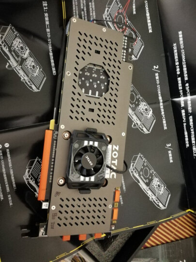 索泰(ZOTAC) Geforce GTX 1070Ti - 8GD5 至尊PLUS 晒单图