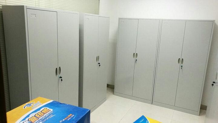 震海文件柜铁皮柜办公柜档案柜资料柜钢制资料柜五层铁柜子通门办公室文档柜 晒单图