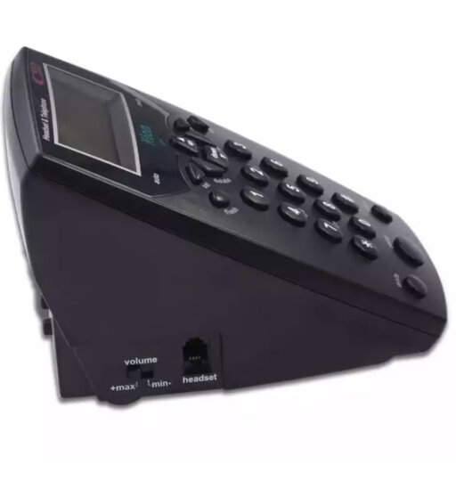 北恩(HION)VF560耳机电话机商务话务耳麦话务员电话适用于话务员/客服/呼叫中心办公固定有绳电话机座机 晒单图