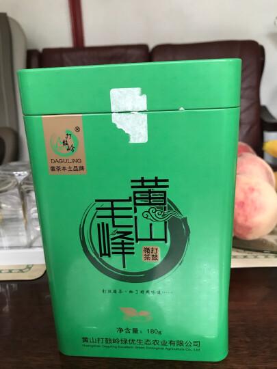 【满199减100买2送杯】打鼓岭 太平猴魁 特级2018新茶100克/罐茶叶春茶绿茶礼盒装 晒单图