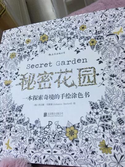 秘密花园+奇幻梦境+秘密花园2:魔法森林+1盒中华牌36色原木彩色铅笔 填色涂色书籍 晒单图
