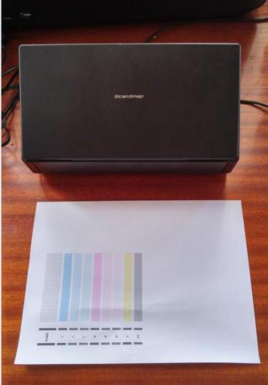 富士通(Fujitsu) ScanSnap IX500彩色文档双面多页馈纸扫描仪可扫A3 晒单图