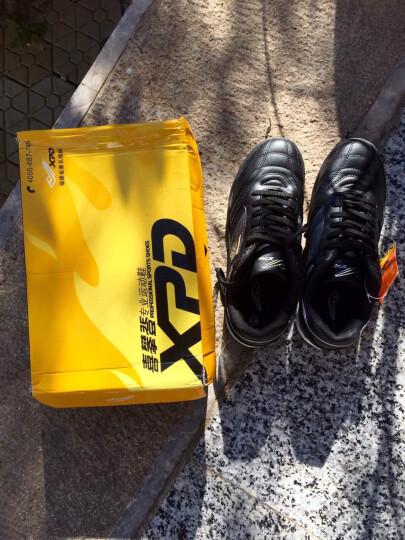 喜攀登足球鞋时尚减震防滑轻便耐磨足球训练鞋男女款球类运动鞋 06830 黑色 38 晒单图