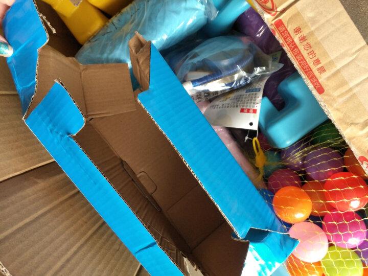 诺澳 儿童乐园室内滑梯家用多功能滑滑梯宝宝组合滑梯秋千带篮球架幼儿园玩具 多趣款/粉色(三合一) 晒单图