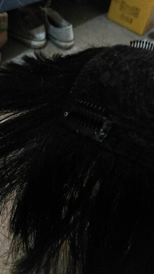 美禾(Meihe) 美禾假发用钢板卡子 假发夹子 九齿卡BB卡 发块固定用卡子 卡子 晒单图