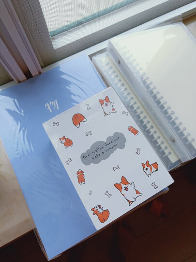 三年二班韩国文具笔记本可爱创意日记本记事本a5本子办公用品单本随机 鲸鱼 晒单图
