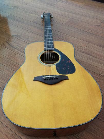 雅马哈(YAMAHA)FG800VT美国型号单板民谣吉他木吉它复古木色亮光41寸 晒单图